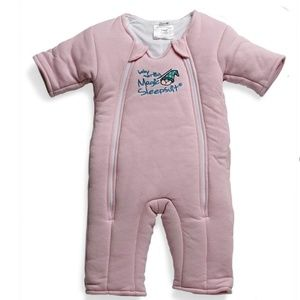 Other - Baby Merlin Pink Cotton Magic Sleepsuit - small